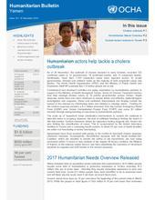 Humanitarian Bulletin, Yemen - Issue 18 (14 December 2016)