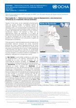 Colombia – Flash Update No. 1: Restricciones al acceso, riesgo de desplazamiento y otras afectaciones humanitarias en el Catatumbo (Norte de Santander)