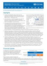 Afghanistan: Returnee Crisis - Situation Report No. 5 (as of 12 January 2017)