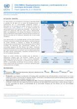 COLOMBIA: Desplazamientos masivos y confinamiento en el municipio de Juradó (Chocó)