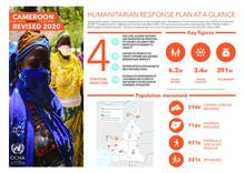 Cameroon: Humanitarian Response Plan 2020 Revised (summary)