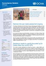 Ethiopia Bi-Weekly Humanitarian Bulletin, 18 June - 1 July 2018