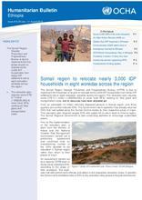 Ethiopia Bi-Weekly Humanitarian Bulletin, 29 July – 11 August 2019