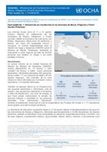 Flash Update No. 1 - Afectaciones por inundaciones en los municipios de Mocoa, Villagarzón y Puerto Guzmán (Putumayo)