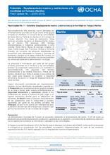 Flash Update No. 1 – Colombia: Desplazamiento masivo en Tumaco (Nariño)