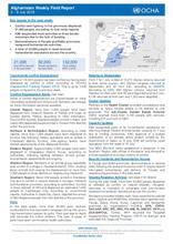Afghanistan Weekly Field Report | 2 – 8 July 2018
