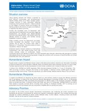 Flash Update- Ghazni Armed Clash No. 1 (as of 14 November 2018)