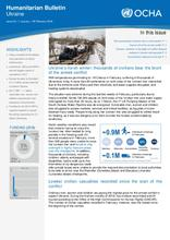 Ukraine: Humanitarian Bulletin | Issue 24| 1 January  – 28 February 2018[EN/UA/RU]