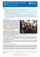 OCHA/Tanganyika : Flash update du 06 décembre 2016