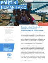 Colombia: Boletín humanitario Abril 2019
