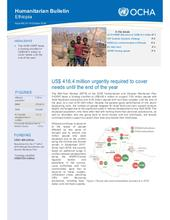Ethiopia Bi-Weekly Humanitarian Bulletin, 01 - 14 October 2018