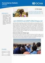 Ethiopia Weekly Humanitarian Bulletin, 22 Jan-04 Feb. 2018
