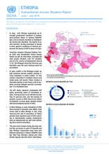 ETHIOPIA Humanitarian Access Situation Report June - July 2019