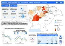 Pakistan: Afghan Refugees and Undocumented Afghan Repatriation 5 - 11 Aug 2018
