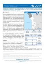 Colombia – Flash Update No. 2. Desplazamiento masivo en Bajo Baudó (Chocó)