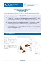 BFA_Rapport de situation sur la Grippe aviaire -15 Avril 2015