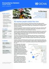 South Sudan: Humanitarian Bulletin Issue 15 (10 Oct 2017)
