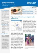 RCA: OCHA Bulletin humanitaire #33 (mars 2018)