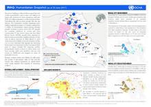 Iraq: Humanitarian Snapshot (as of 30 June 2017)