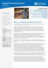 Boletín Humanitario Mensual - Agosto (2016)