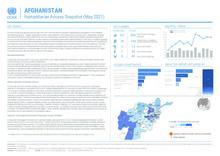 AFGHANISTAN: Humanitarian Access Snapshot (May 2021)