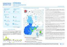Infografía Contexto Humanitario primer semestre (Córdoba)