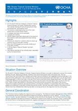 UNOCHA Situation Report #2 on TC Winston in Fiji