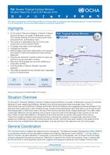 UNOCHA Situation Report #2 on TC Winston in Fiji