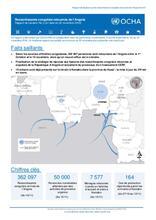 RD Congo : Rapport de Situation N°3 sur les ressortissant congolais retournés de l'Angola
