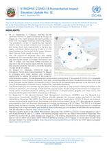 Ethiopia: COVID-19 Humanitarian impact Situation Update No.12 as of 02 September 2020 - [EN]