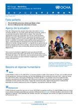 RD Congo – Nord-Kivu Note d'informations humanitaires du 19 juillet 2018