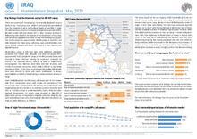 Iraq: Humanitarian Snapshot - May 2021 [EN]