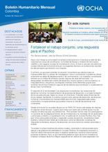 Boletín humanitario mensual - marzo 2017