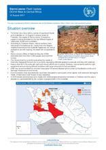 Sierra Leone: Flash Update - 15 August 2017
