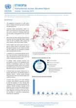 ETHIOPIA Humanitarian Access Situation Report October – December 2019