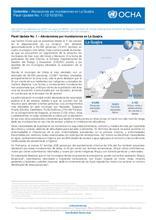 Colombia - Flash Update N°1. Afectaciones por inundaciones en La Guajira