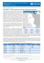 Colombia: Flash Update N° 1: Restricciones al acceso en San Calixto - Catatumbo (Norte de Santander)