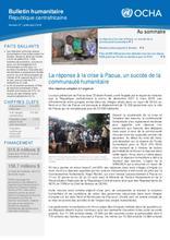 RCA: OCHA Bulletin humanitaire #37 (juill, août 2018)