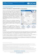 Colombia – Flash Update No. 1: Desplazamiento Masivo Tarazá (Antioquia)