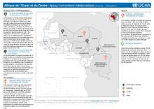 Afrique de l'Ouest et du Centre: Aperçu humanitaire hebdomadaire (31 Janvier - 06 Février 2017) [FR/EN]