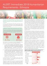 ALERT: Immediate 2018 Humanitarian Requirements - Ethiopia