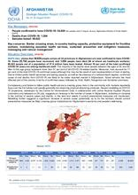 Afghanistan Flash Update | COVID-19 | Strategic Situation Report No. 67 | 09 August 2020
