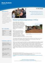 Ebola Bulletin - December 2015