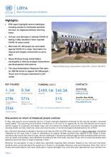 OCHA Libya l Humanitarian Bulletin (May 2021)/ النشرة الإنسانية لشهر أيار-  [En/Ar]