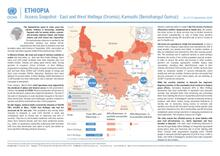 Ethiopia: Access Snapshot - East and West Wellega (Oromia), Kamashi (Benishangul Gumuz) as of 15 September 2020