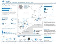 Mali : Aperçu des inondations dans les régions de Gao et Mopti 21 juillet 2020