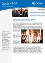 Humanitarian Bulletin Afghanistan Issue 82 | 1 July–30 September 2019