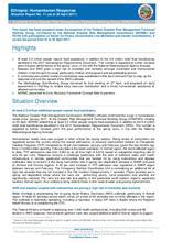 Ethiopia: Humanitarian Response Situation Report No. 11 (as at 30 April 2017)