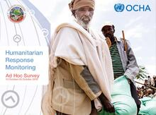 Ethiopia Humanitarian Response Monitoring