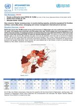 Afghanistan Flash Update | COVID-19 | Daily Brief No. 47 | 24 May 2020